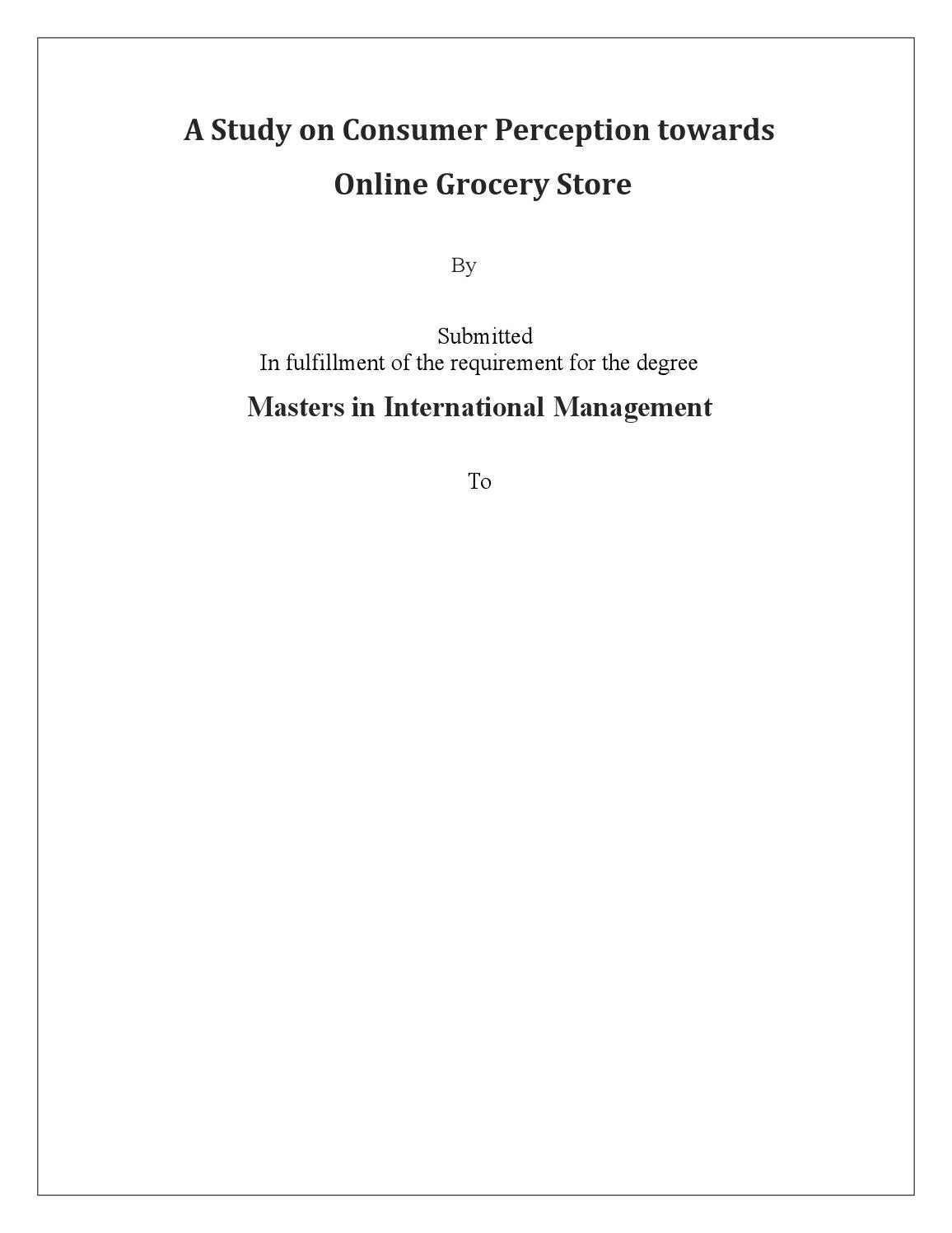 research papers on consumer behaviour towards online shopping research papers on consumer behaviour towards online shopping