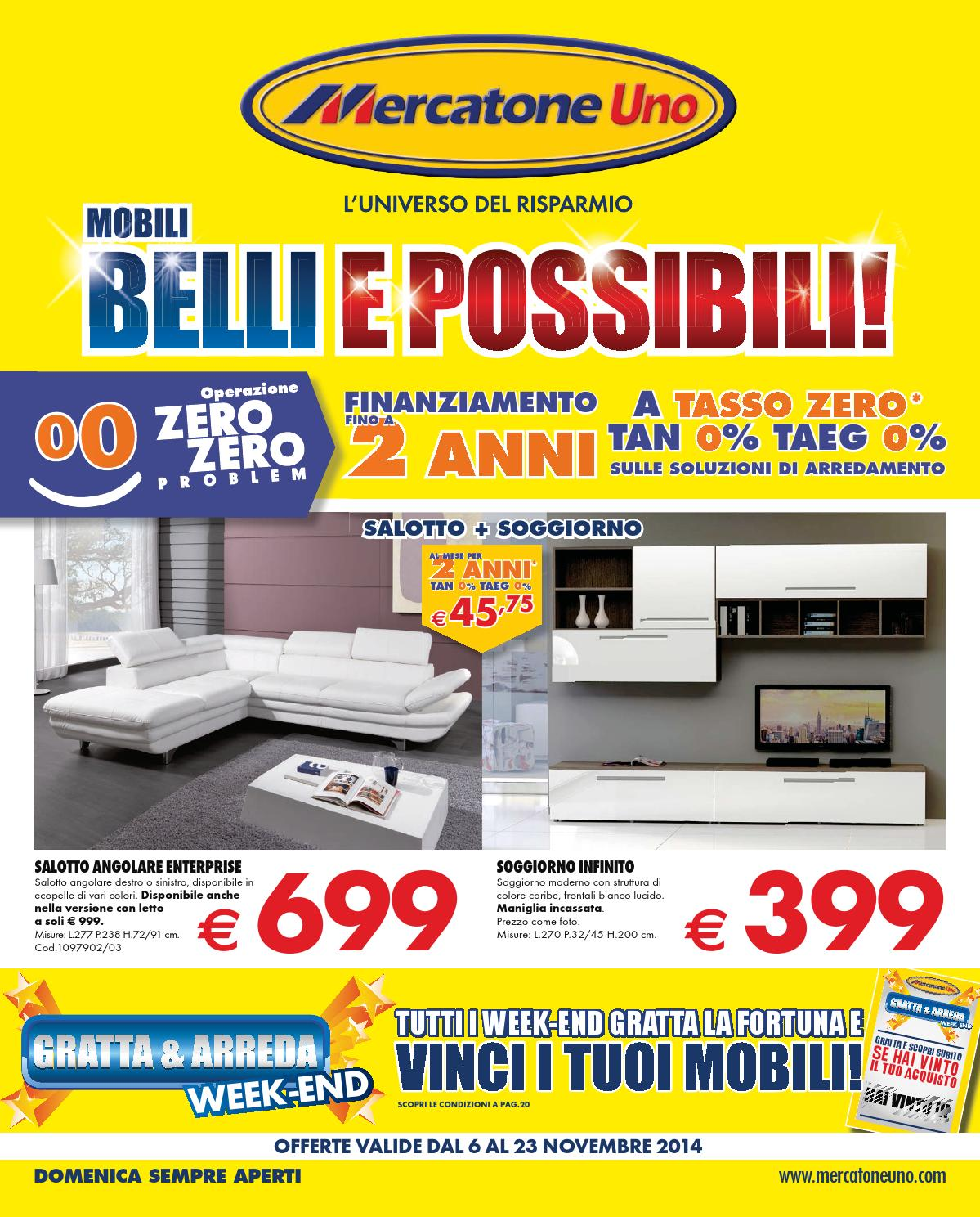 mercatoneuno catalogo 6 23novembre2014 by