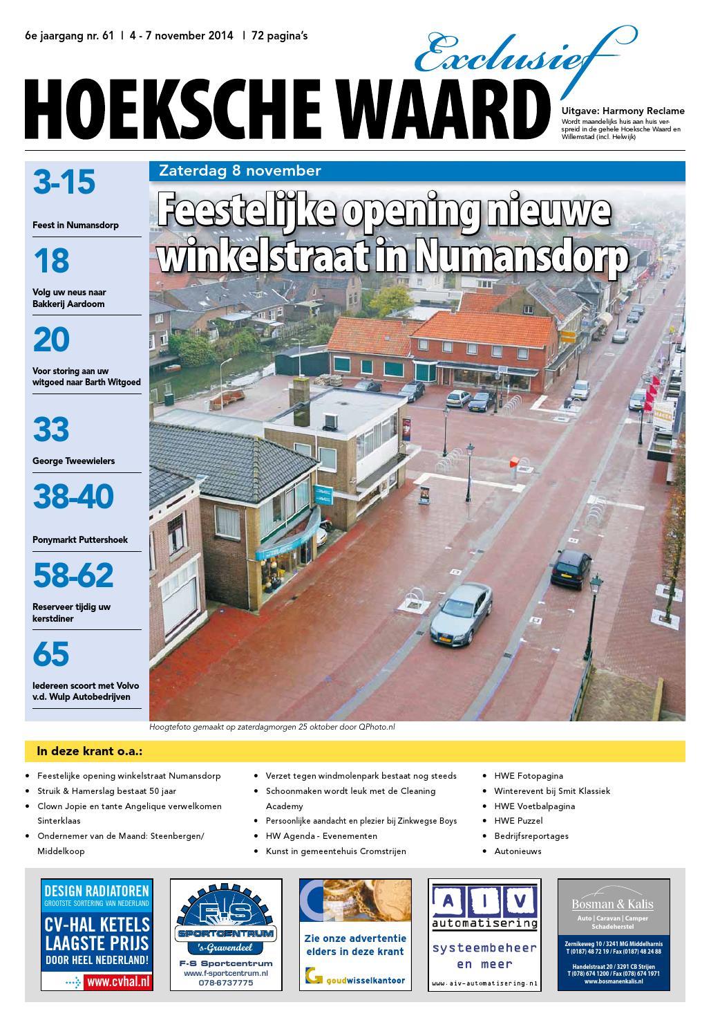 11 Hoeksche Waard November 2014 Digitaal By Hoeksche Waard