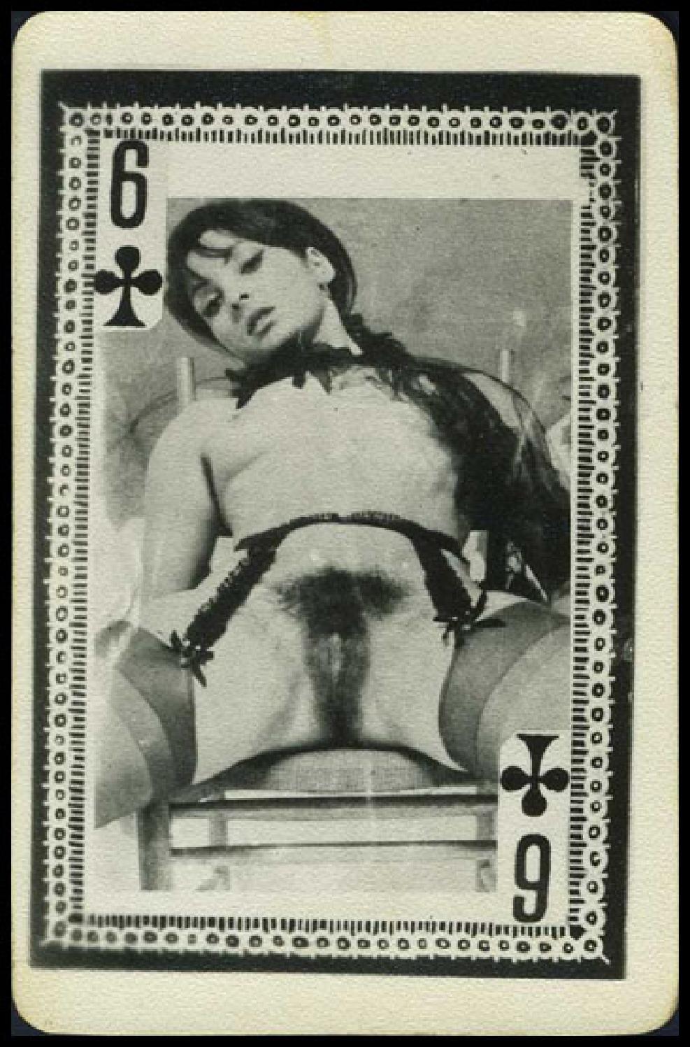 Ретро порно карты игральные 4 фотография