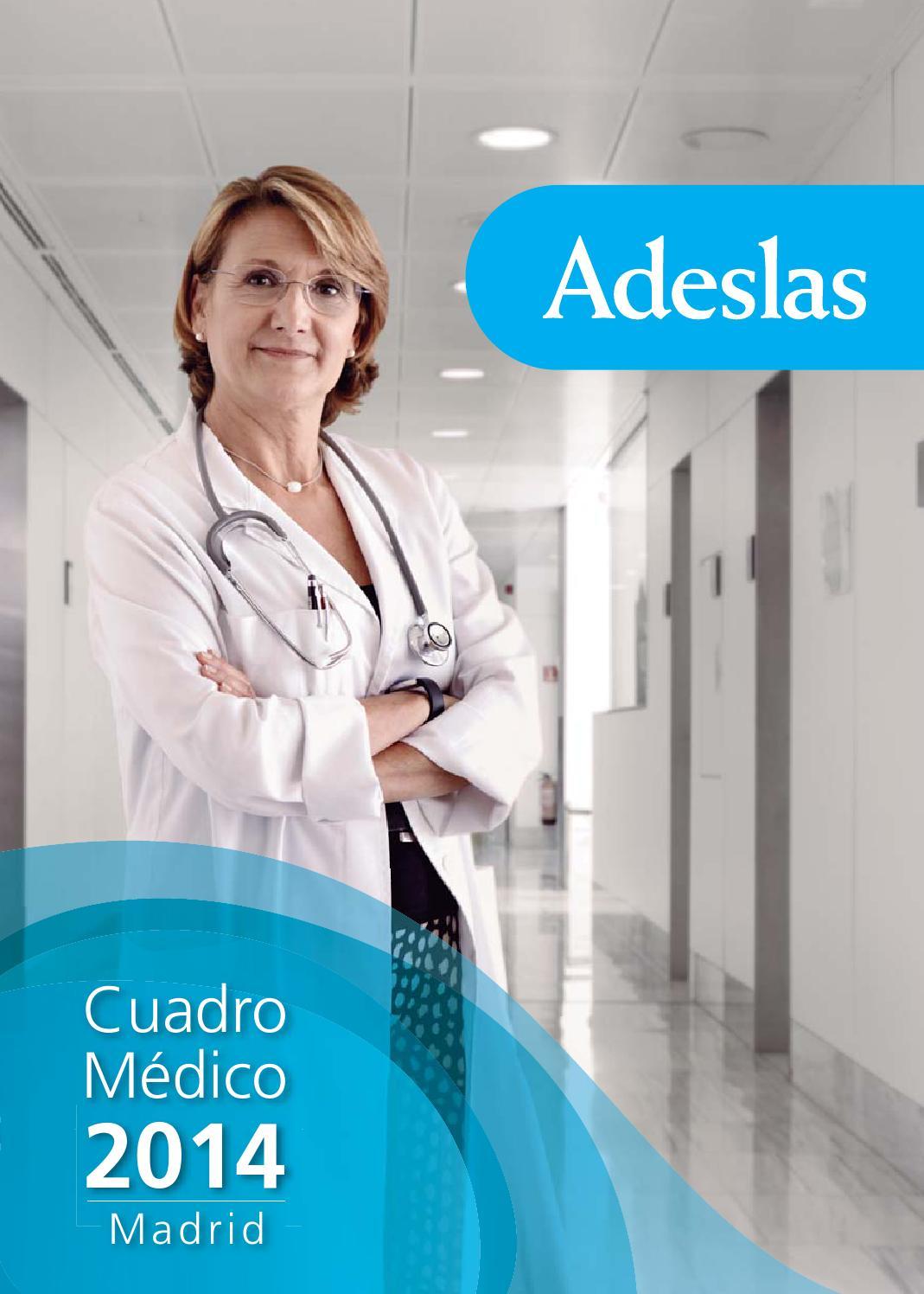 Cuadro medico adeslas madrid by esther lopez issuu for Oficina de adeslas