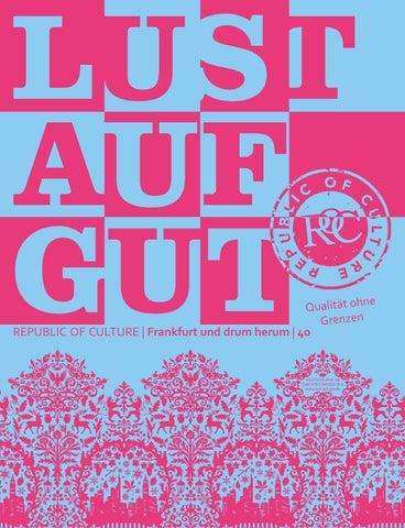 LUST AUF GUT Magazin | Frankfurt Nr. 40
