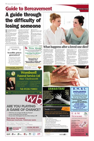 Front Cover Image for Guide to Bereavement - 07 November 2014