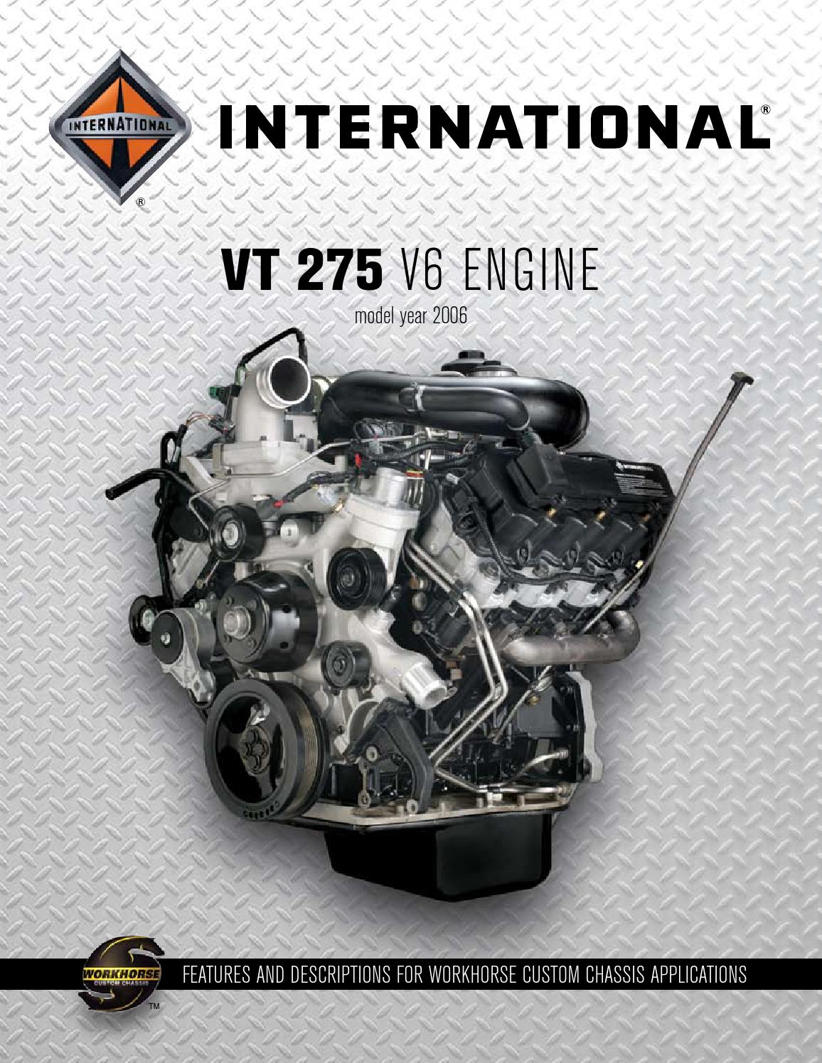 international vt 275 2006 engine catalog 4 20 06 by