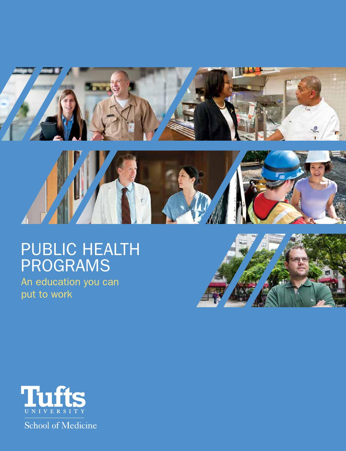 tufts community health thesis
