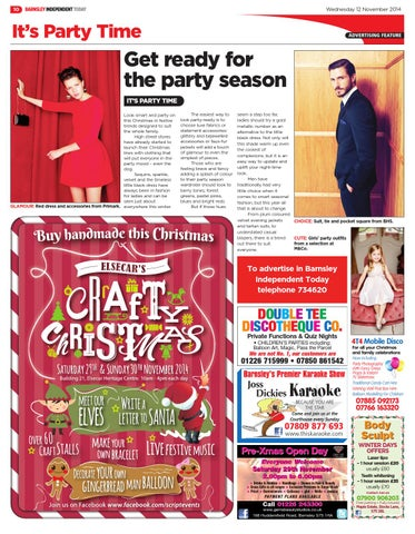 Front Cover Image for It's Party Time - 11 November 2014