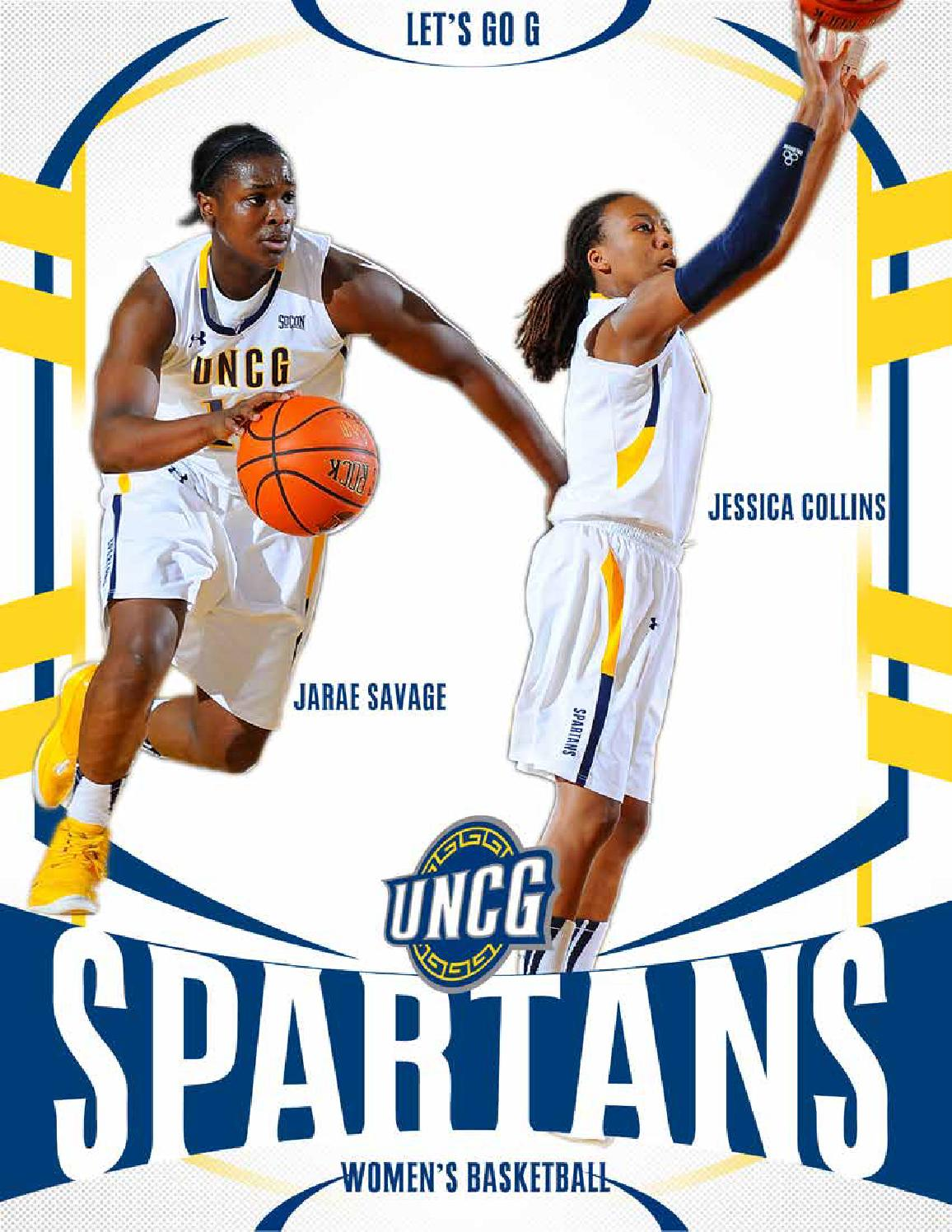 2014 15 women s basketball guide by uncg athletics issuu uncg logo change uncg logo new