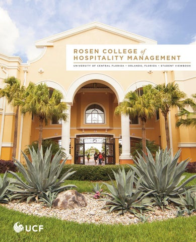 Rosen College of Hospitality Management Viewbook 2014-15