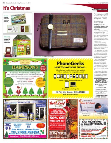 Front Cover Image for It's Christmas - 14 November 2014