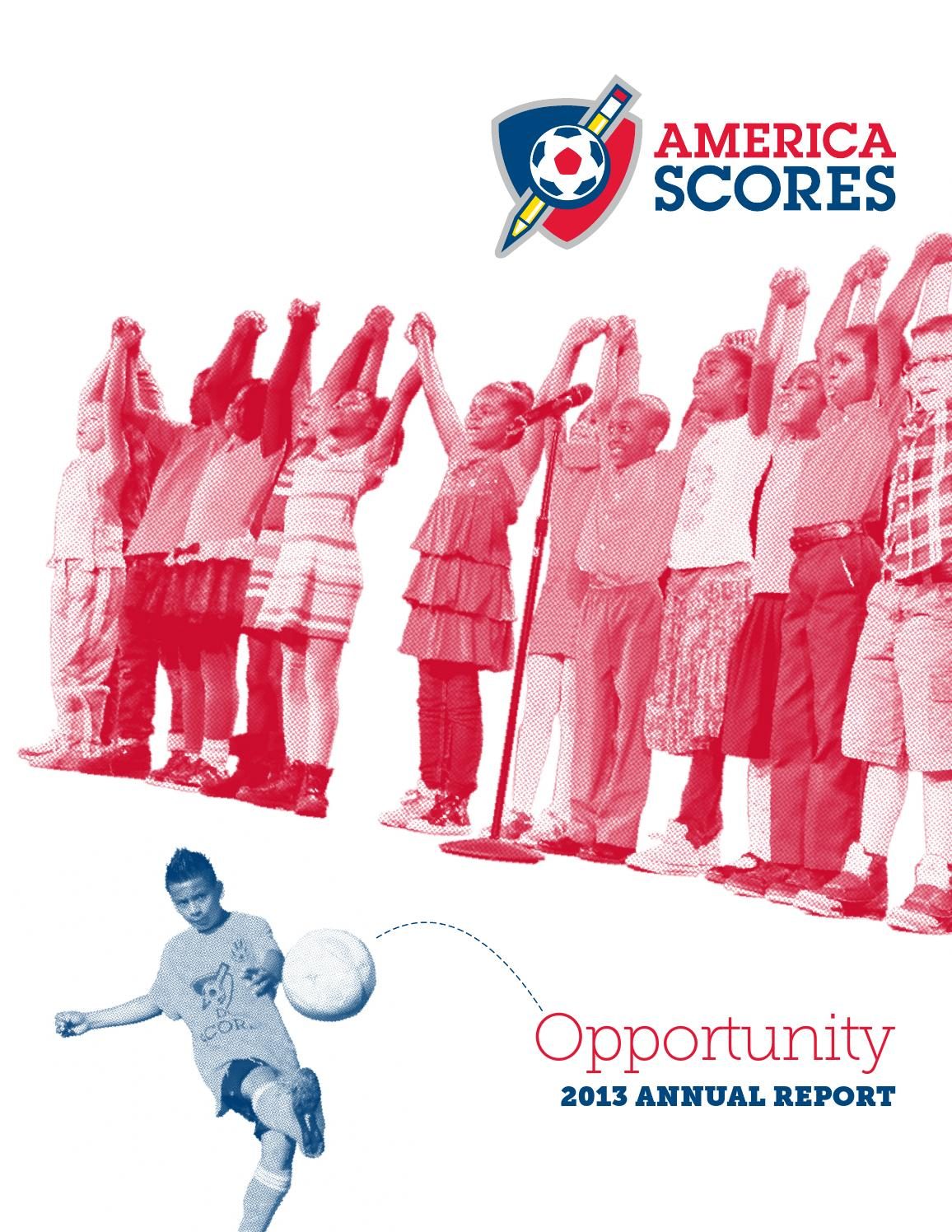 america scores annual report by america scores issuu