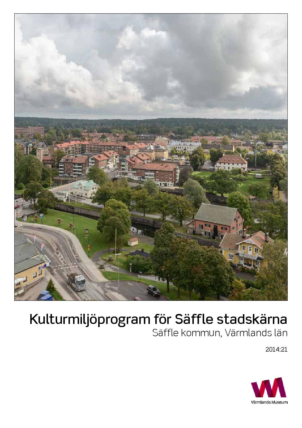 Kulturmiljöprogram för säffle stadskärna 141106 by säffle kommun ...
