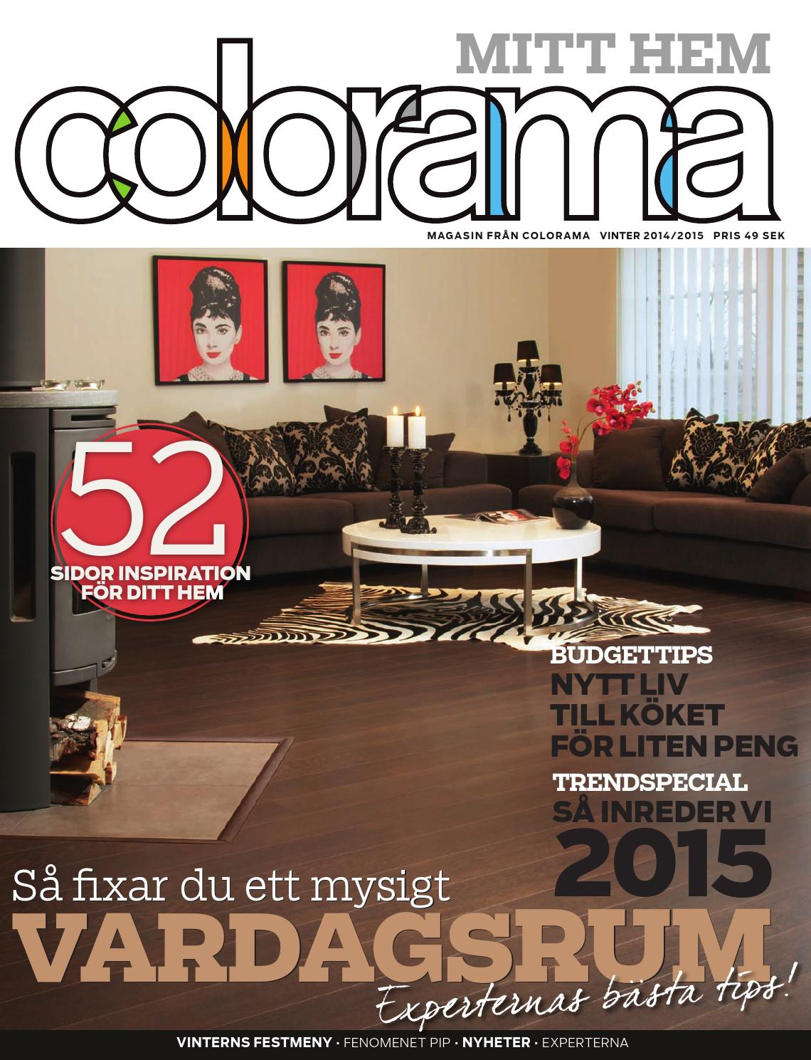 Colorama Mitt hem, 2014-5 vinter by Colorama - issuu