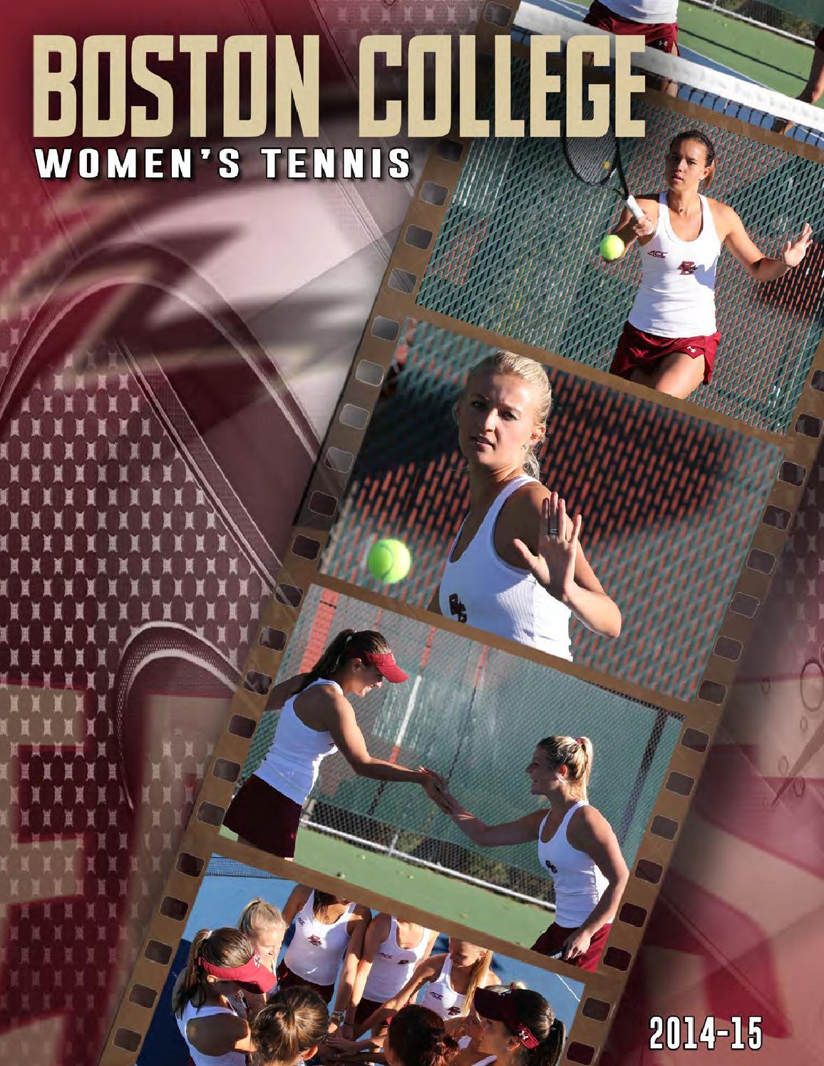 ISSUU - Boston College Women's Tennis Media Guide 2014-15 ...