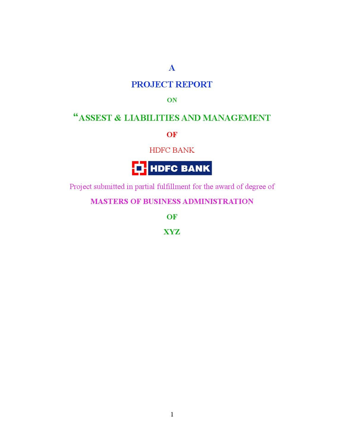 hdfc bank essay A merger occurs when two or more companies combines and the resulting firm maintains the identity of one of the firms one or more companies may merge with an existing company or they may merge to form a new company.