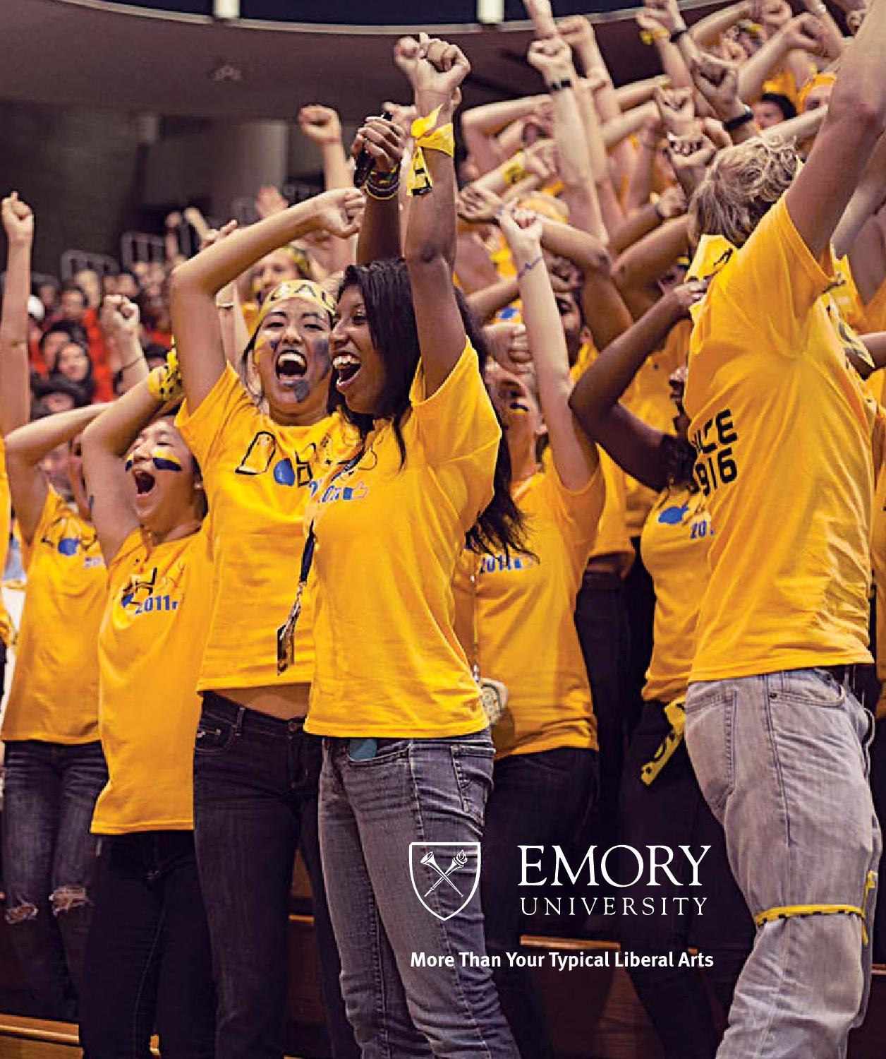 emory university essay prompt The university of notre dame writing supplement consists of one (1) essay response to a required question and two (2) essay responses to questions you select from the options provided in total, you will write three (3) essay responses.