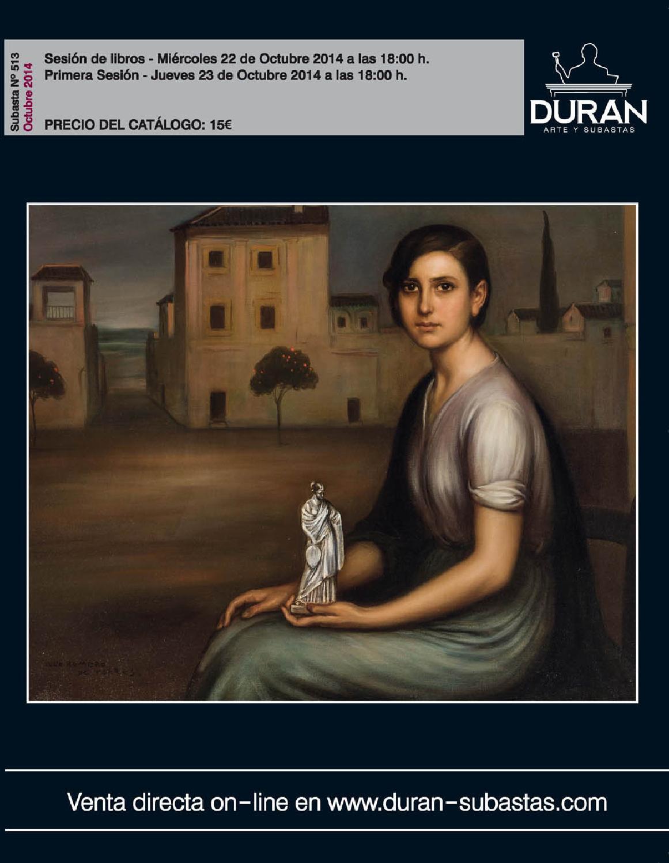 Duran subastas octubre 2014 arte by consuelo duran issuu for Subastas duran muebles