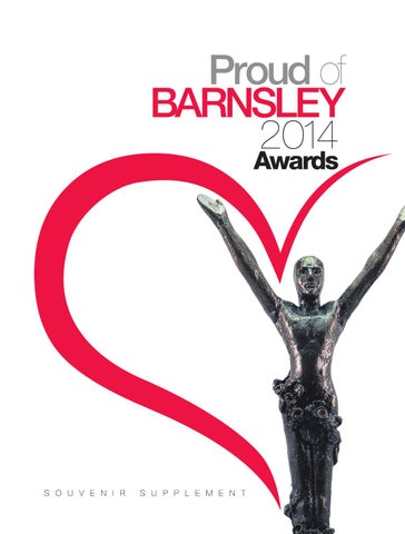 Front Cover Image for Proud of Barnsley Awards (November 2014)