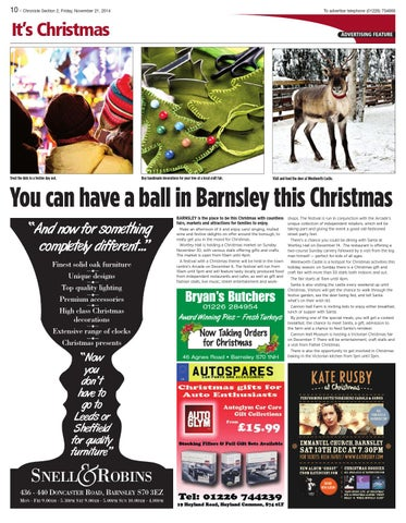 Front Cover Image for It's Christmas - 21 November 2014