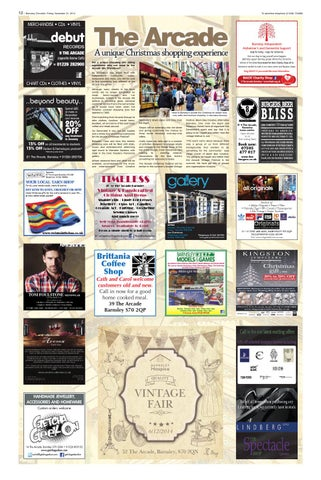 Front Cover Image for The Arcade - 21 November 2014