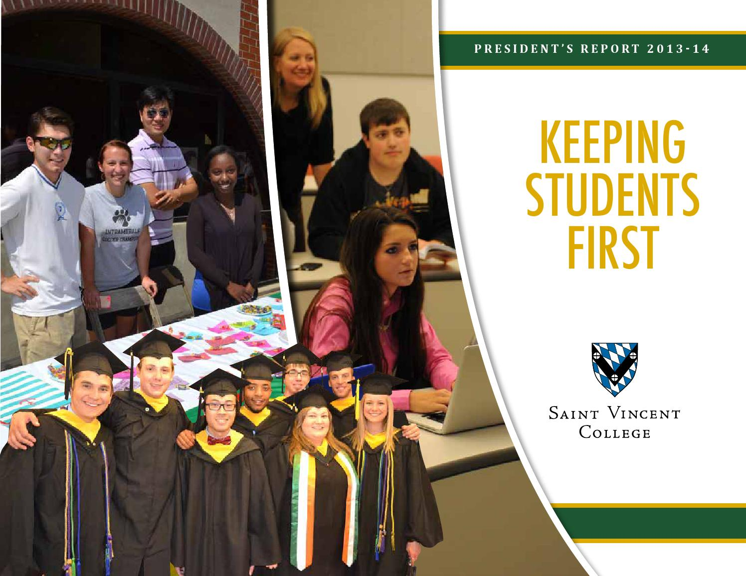 President S Report 2013 14 By Saint Vincent College Issuu