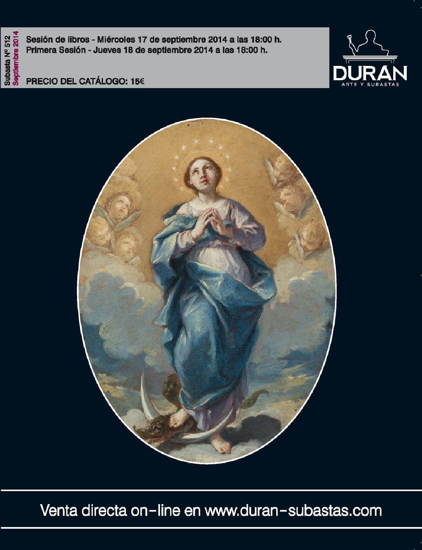 Duran subastas septiembre 2014 arte by consuelo duran issuu for Subastas duran muebles