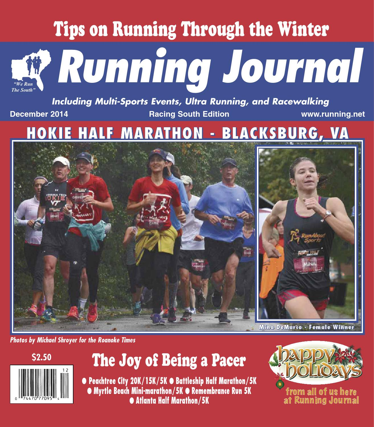 Mid Winter Classic 5k 10k 15k: RJ1412 By Running Journal