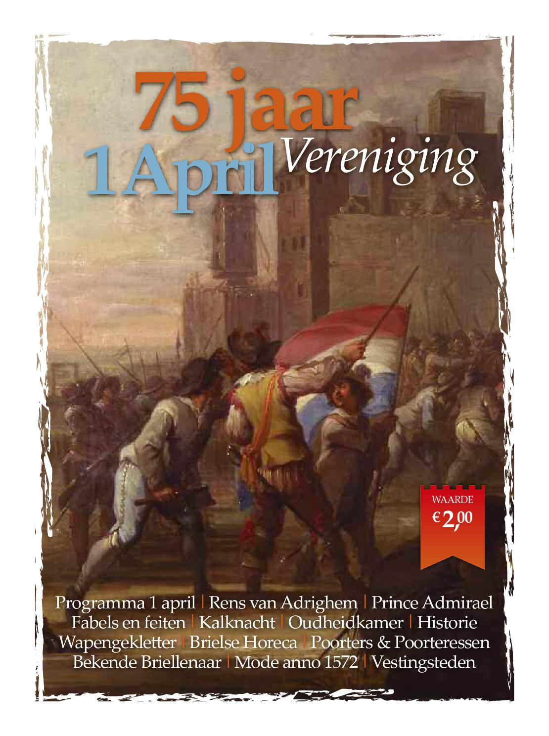 Jubileumkrant 1 april vereniging by briellenaer   issuu