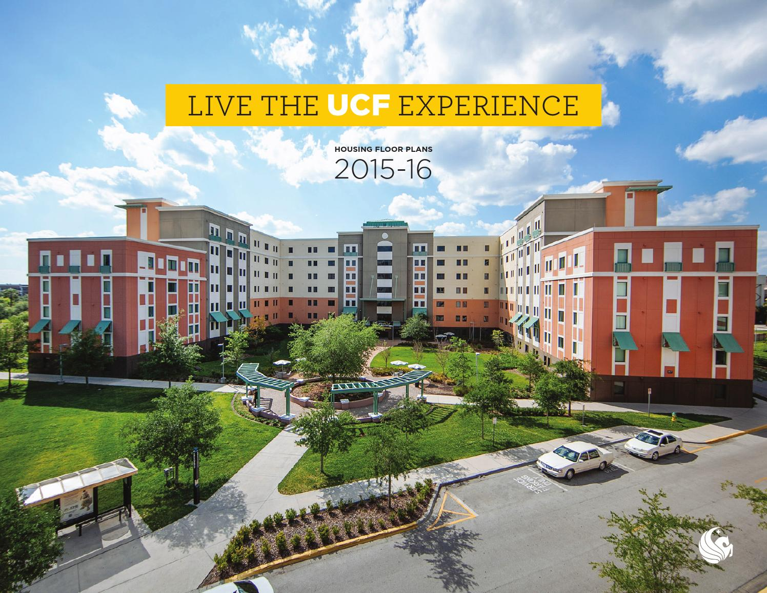 Ucf Housing Floorplans 2015 16 By University Of Central
