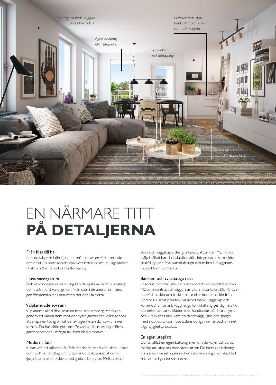 Jm, stockholm: tyresö skogsstad – skogskanten. säljbroschyr (2014 ...
