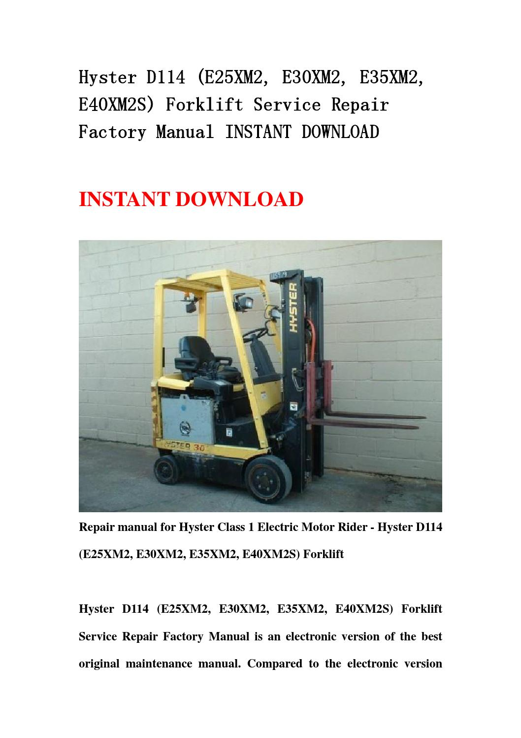 Wiring Diagram Further Hyster Forklift Wiring Diagram As Well 30