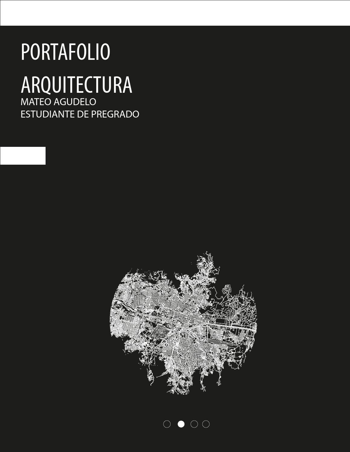 Portafolio arquitectura mateo agudelo by mateo agudelo issuu for Portadas de arquitectura