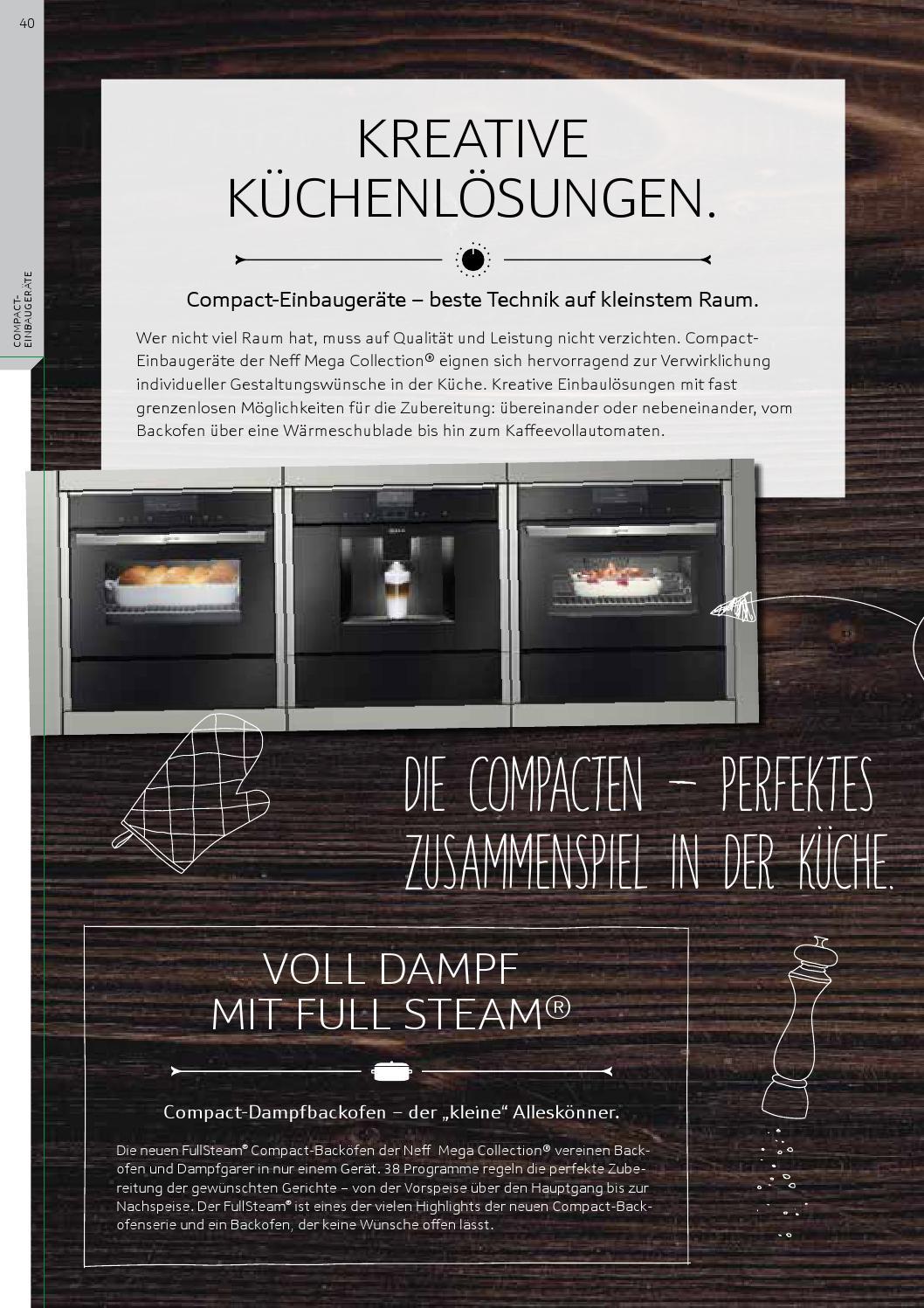 das neue neff megacollection programm 2014 2015 by neff sterreich issuu. Black Bedroom Furniture Sets. Home Design Ideas