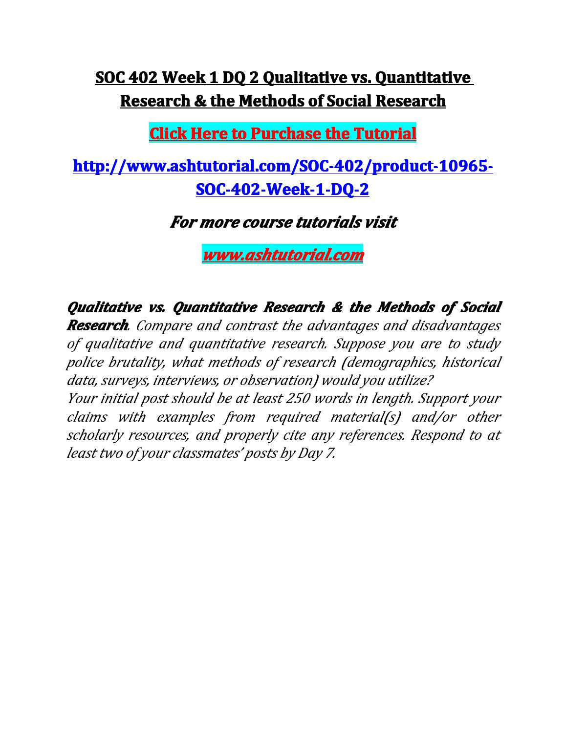 soc 402 week 4 dq 1 Soc 402 week 4 dq 1 second shift respond to the following questions: among twin- income and dual-career families, do you think there will ever be an equal sharing of household work why or why not.