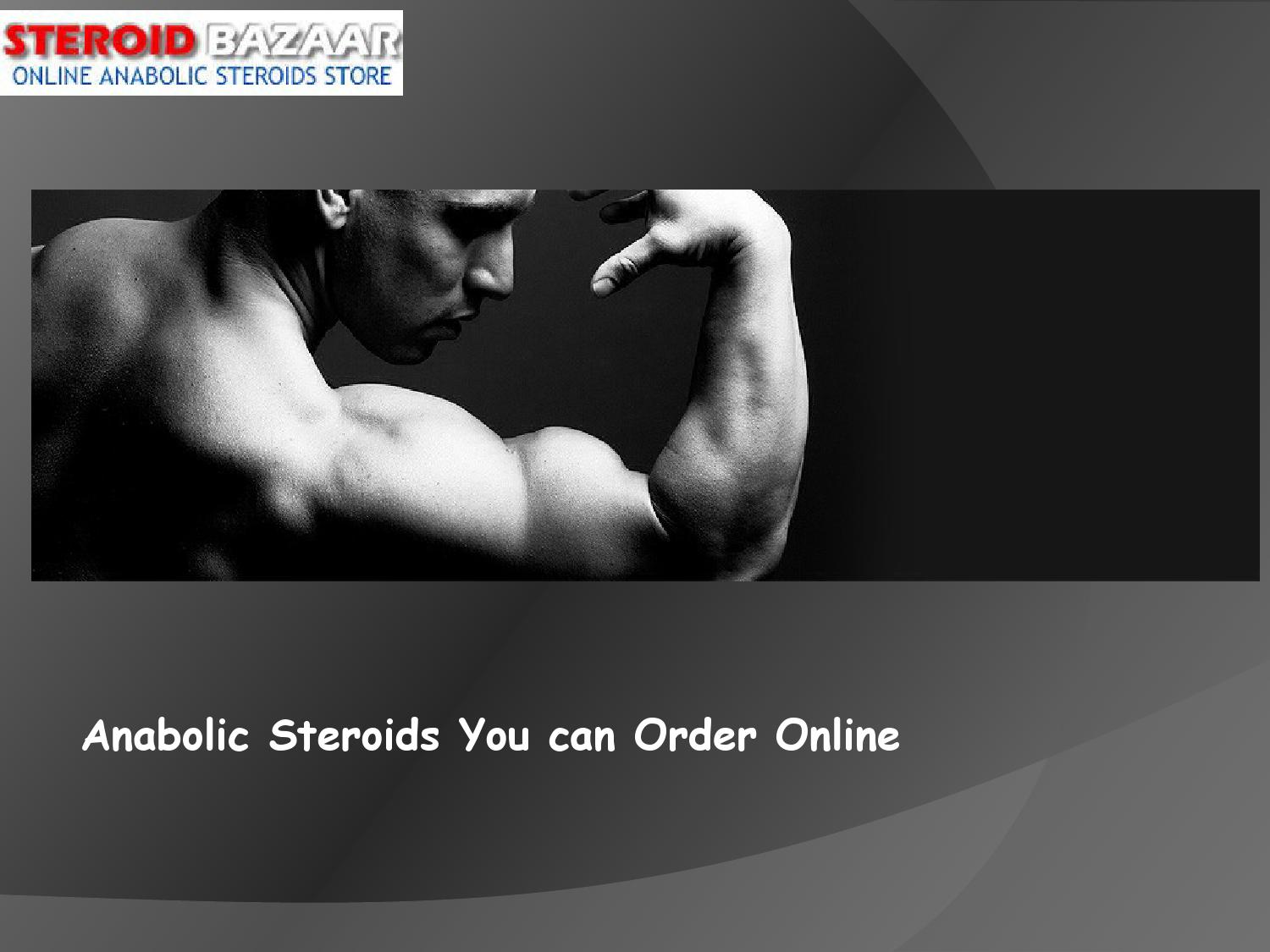 Anabolic steroids you can Order Online by Steroid Bazaar ...