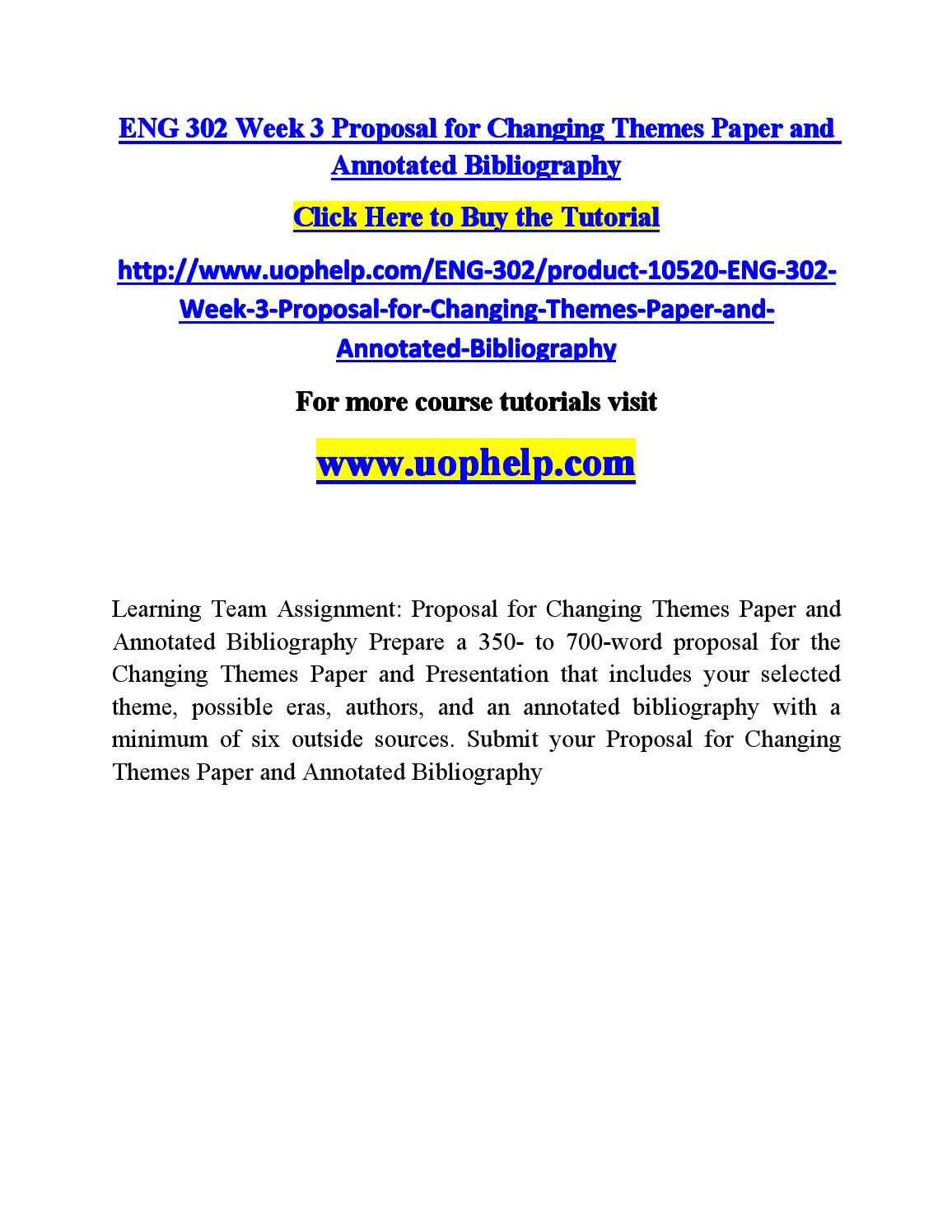 proposal annotated bibliography assignment capital