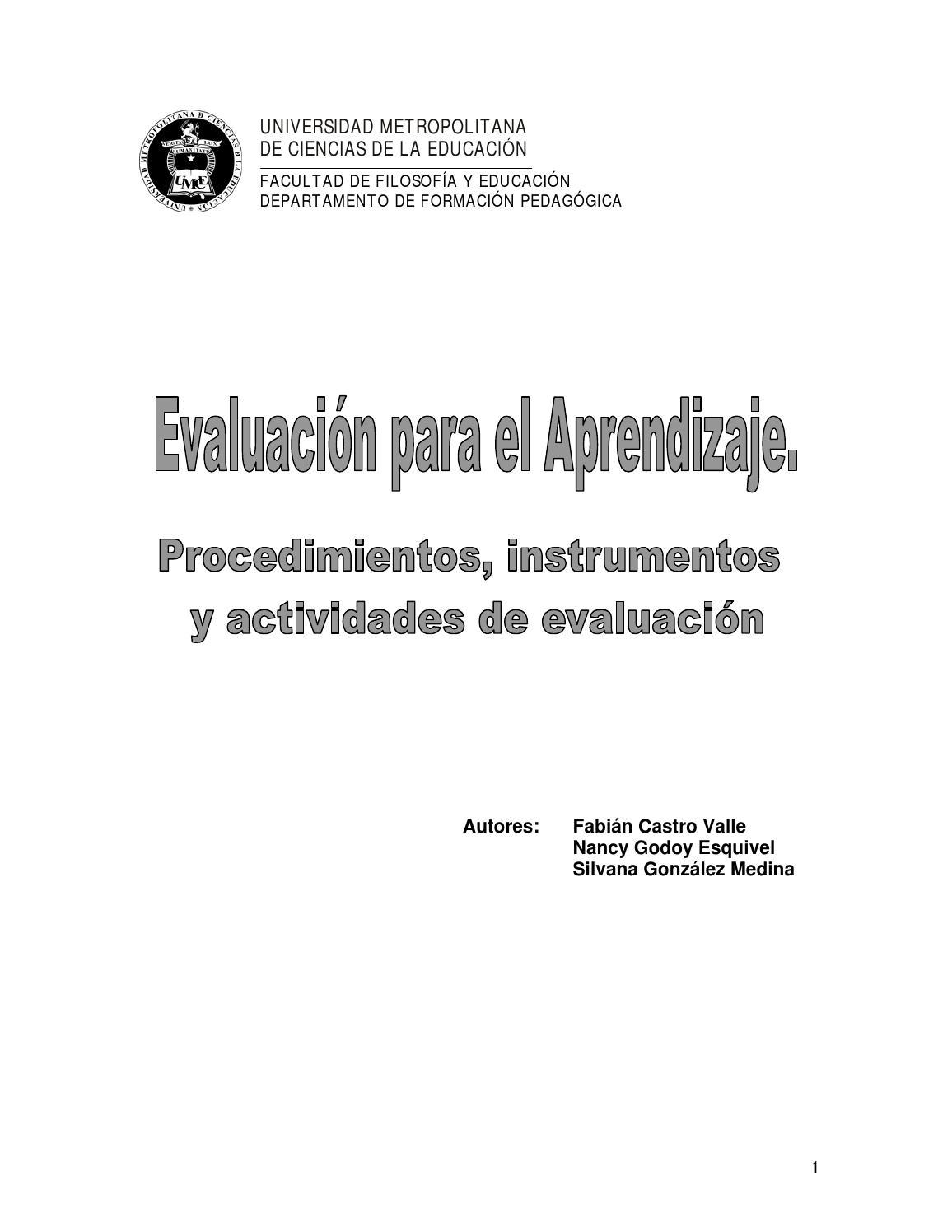 Texto base evaluacion para el aprendizaje 1 1 by for Bases para picas