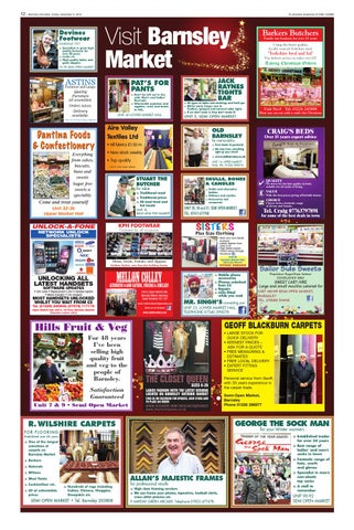 Front Cover Image for Barnsley Market Feature - 05 December 2014