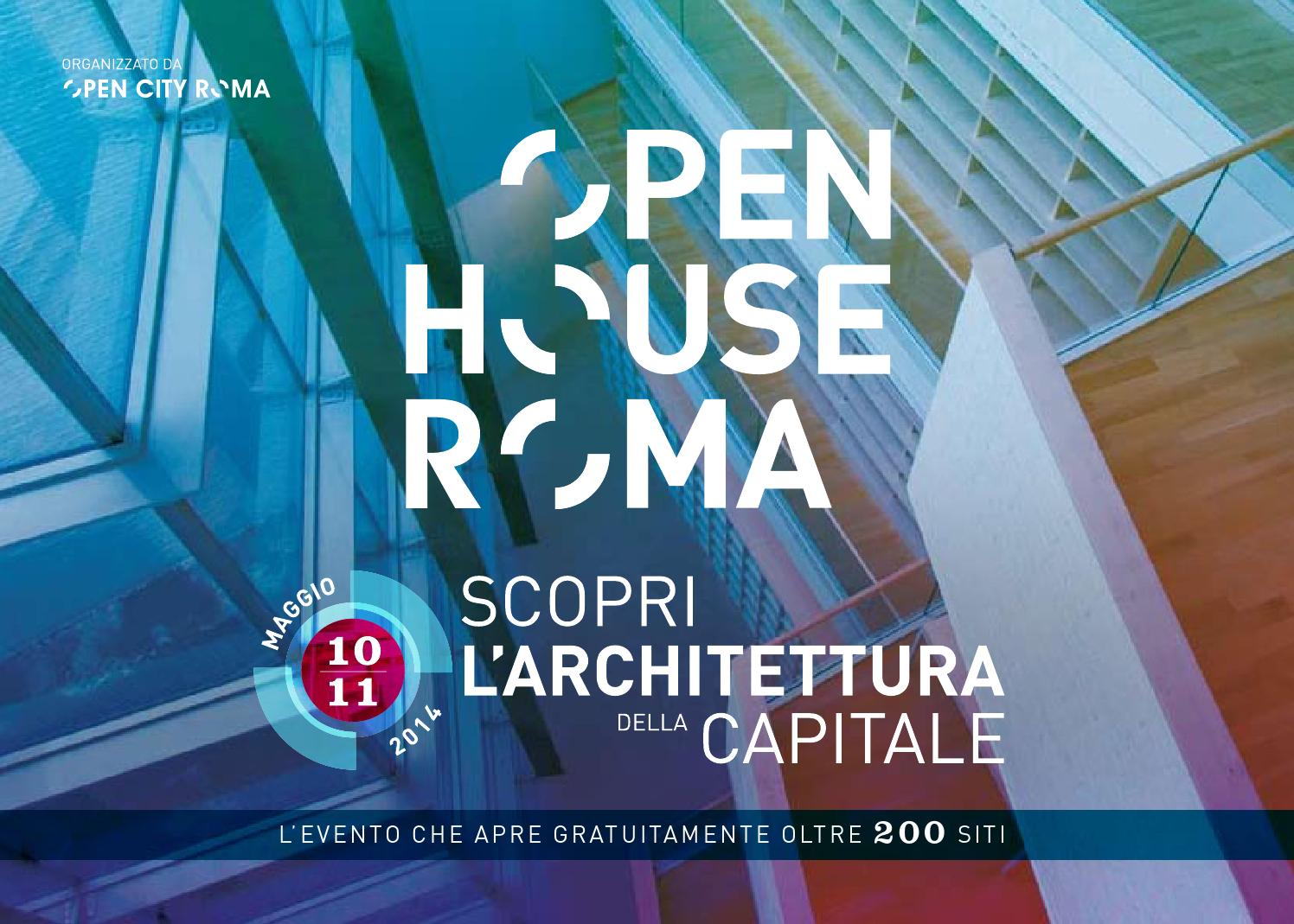 Guida Open House Roma 2016 by Open House Roma - issuu