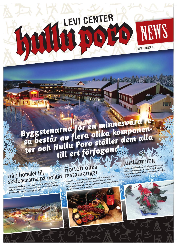 Hullu Poro News Svenska by Hullu Poro - issuu