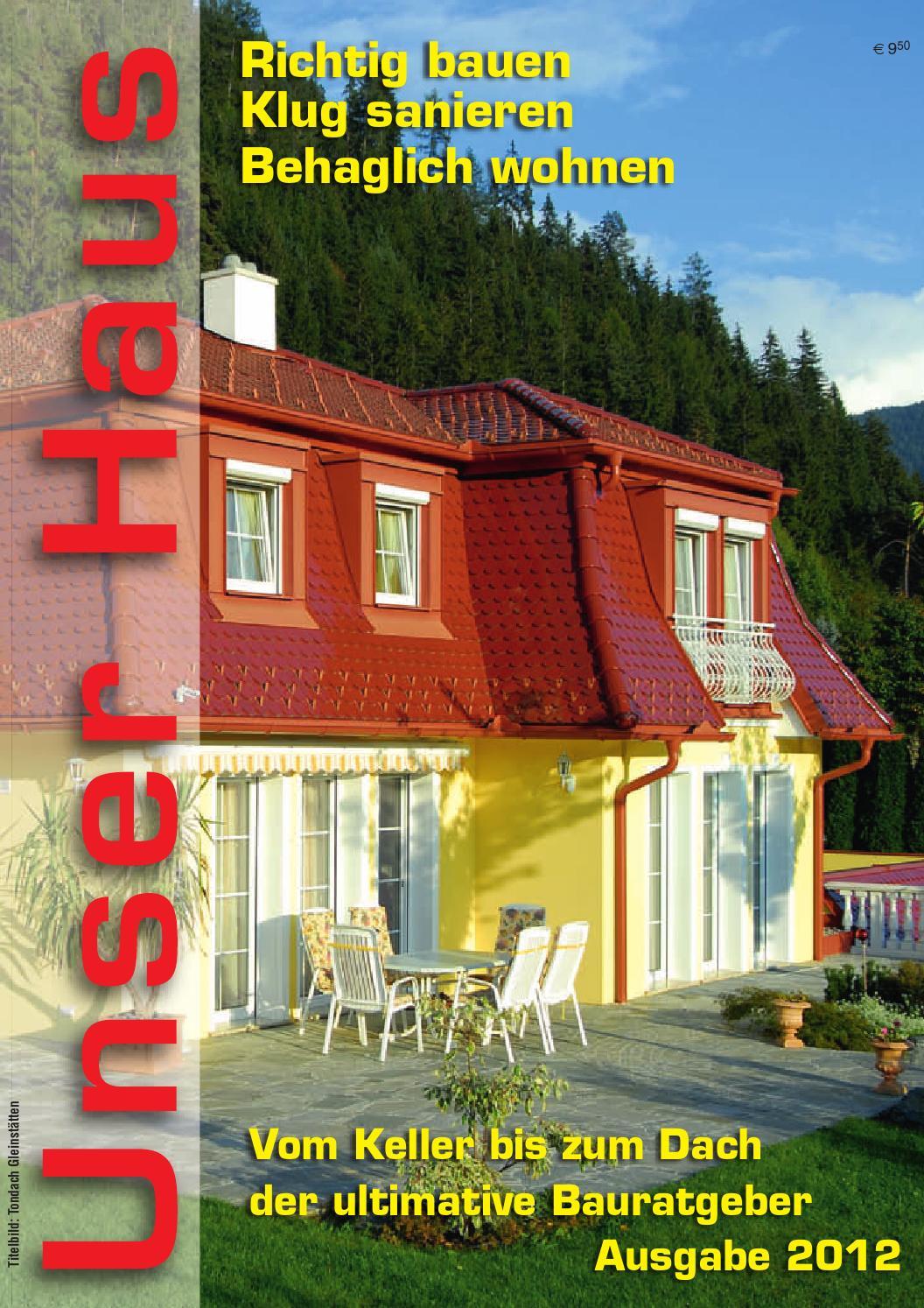 Unser Haus 2012 by oland Kanfer - issuu