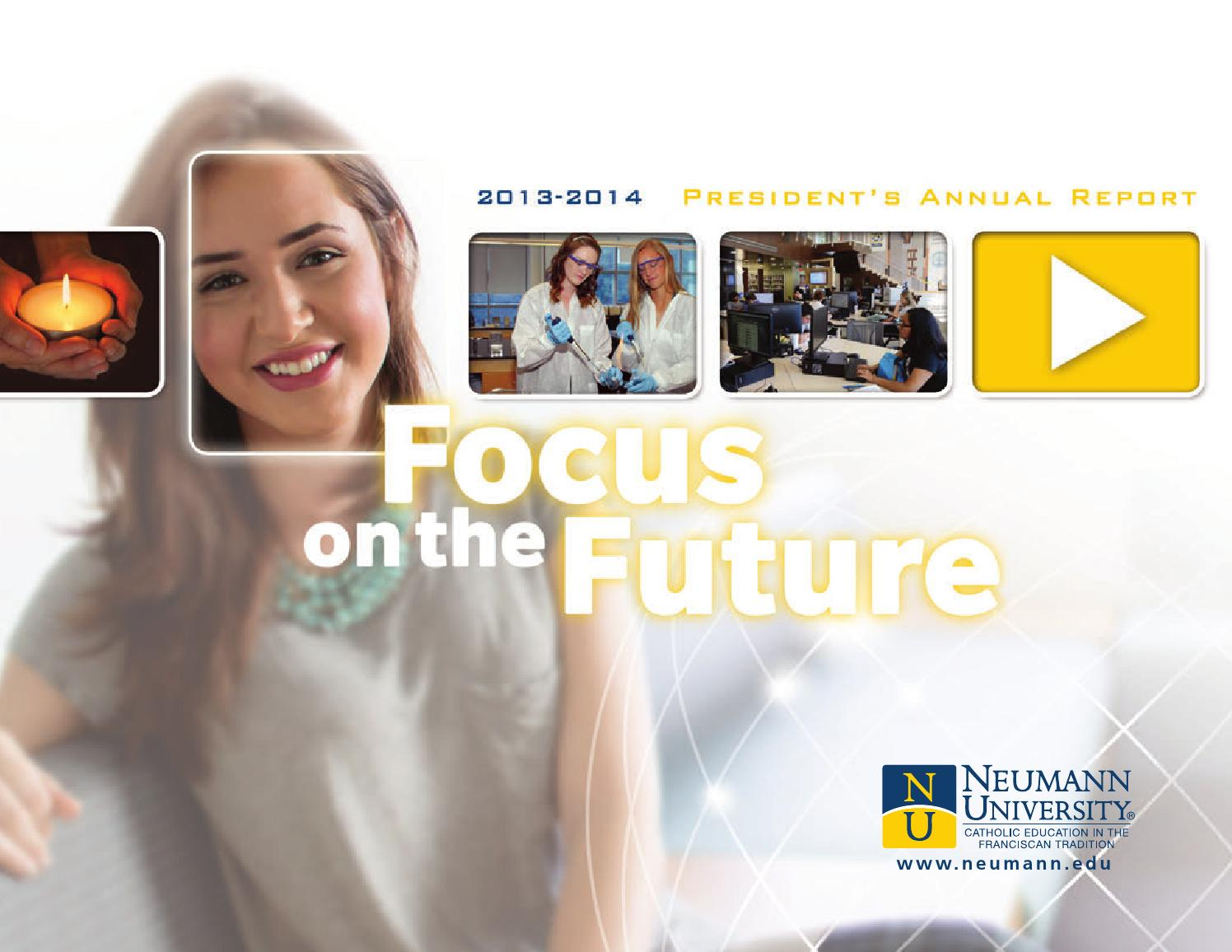 annual report 2015 2016 by neumann university issuu neumann university president s annual report 2013 2014