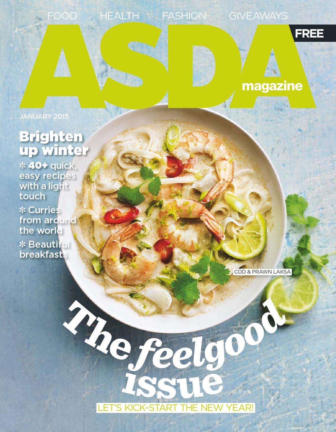 Asda Magazine January 2015 By Asda Issuu
