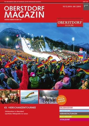 Oberstdorf Magazin 01/2015