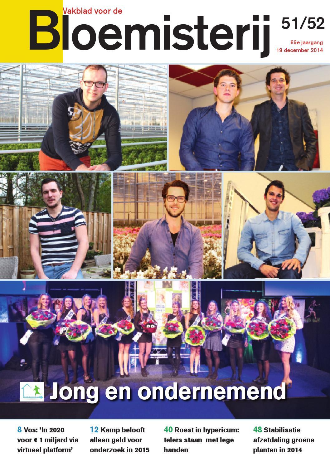 Bloemisterij 27 / 2014 by Stichting Vakinformatie Siergewassen - issuu