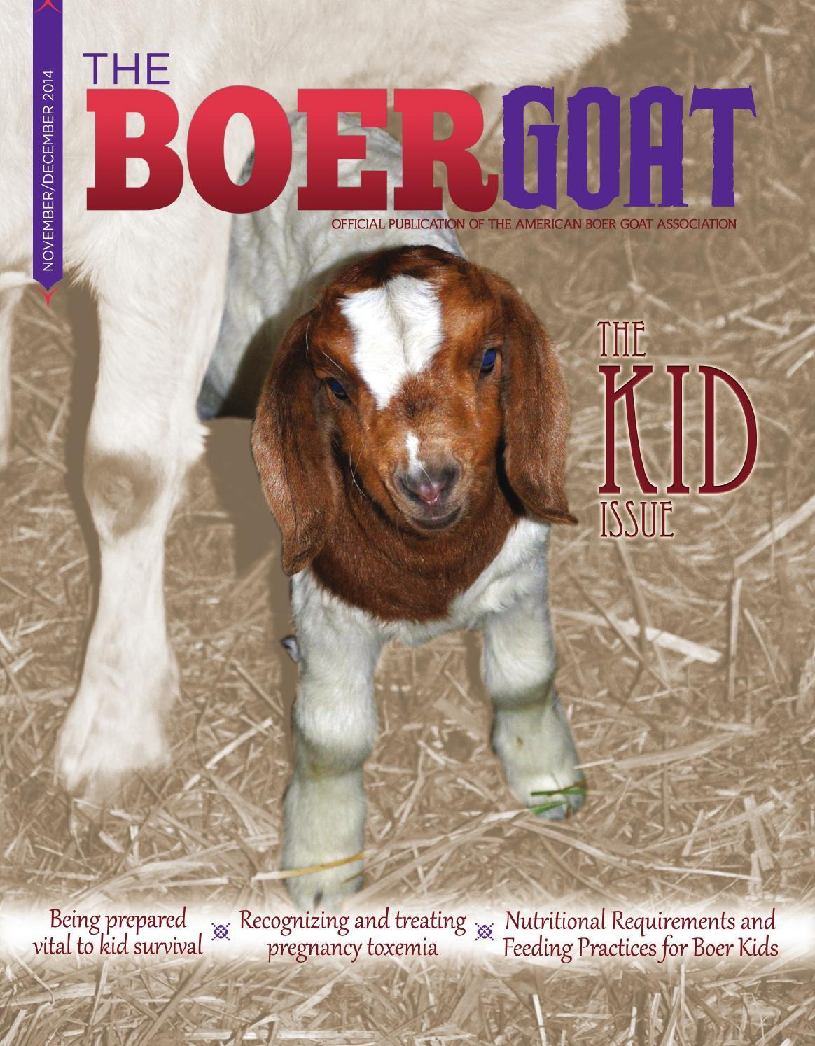 The Boer Goat - November/December 2014 by American Boer ... - photo#48