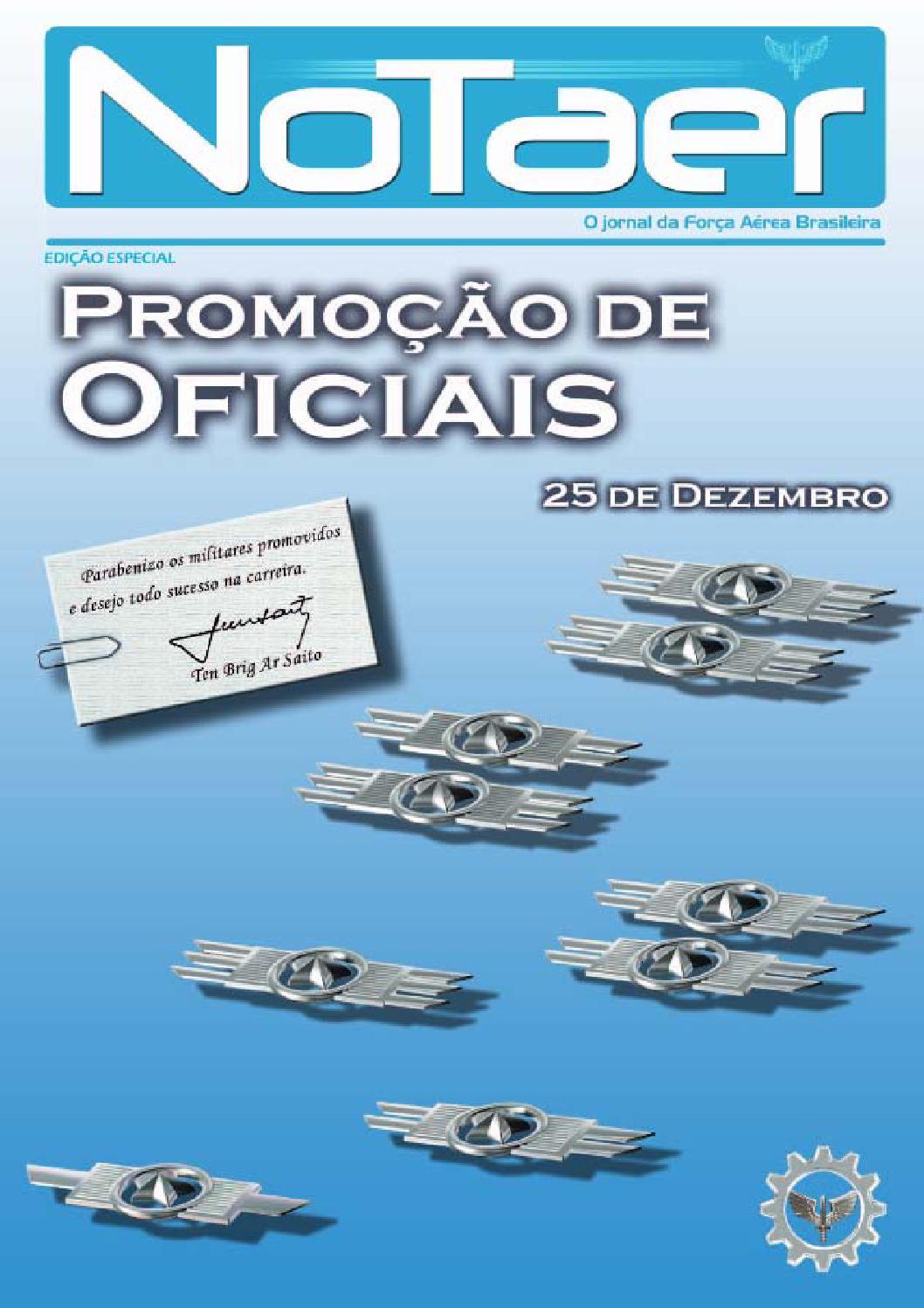 Notaer Especial Promo 231 227 O De Oficiais Dezembro De 2014 By