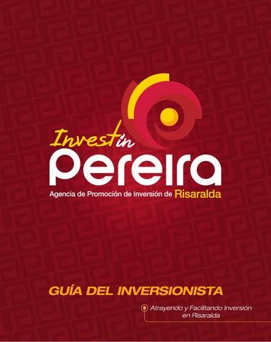 Guía del inversionista 2014 - Invest in Pereira