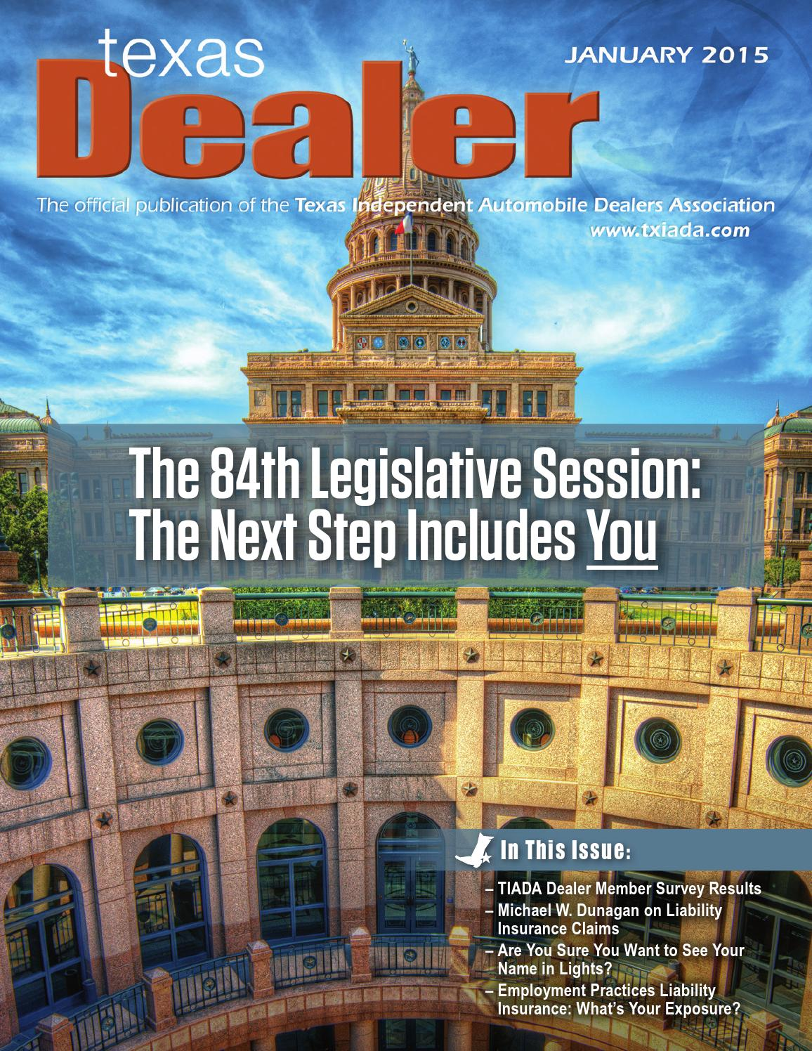 texas dealer by texas independent auto dealers texas dealer 2015 by texas independent auto dealers association issuu