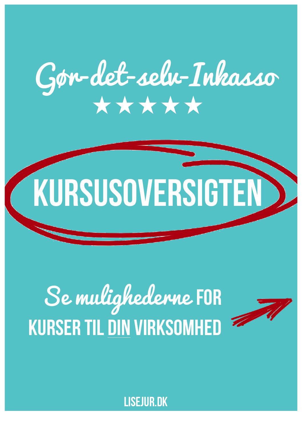 #AE050E Meget bedømt Gør Det Selv Inkasso Kursuskatalog By Lisejur.dk Issuu Gør Det Selv Daybed 5089 105814975089