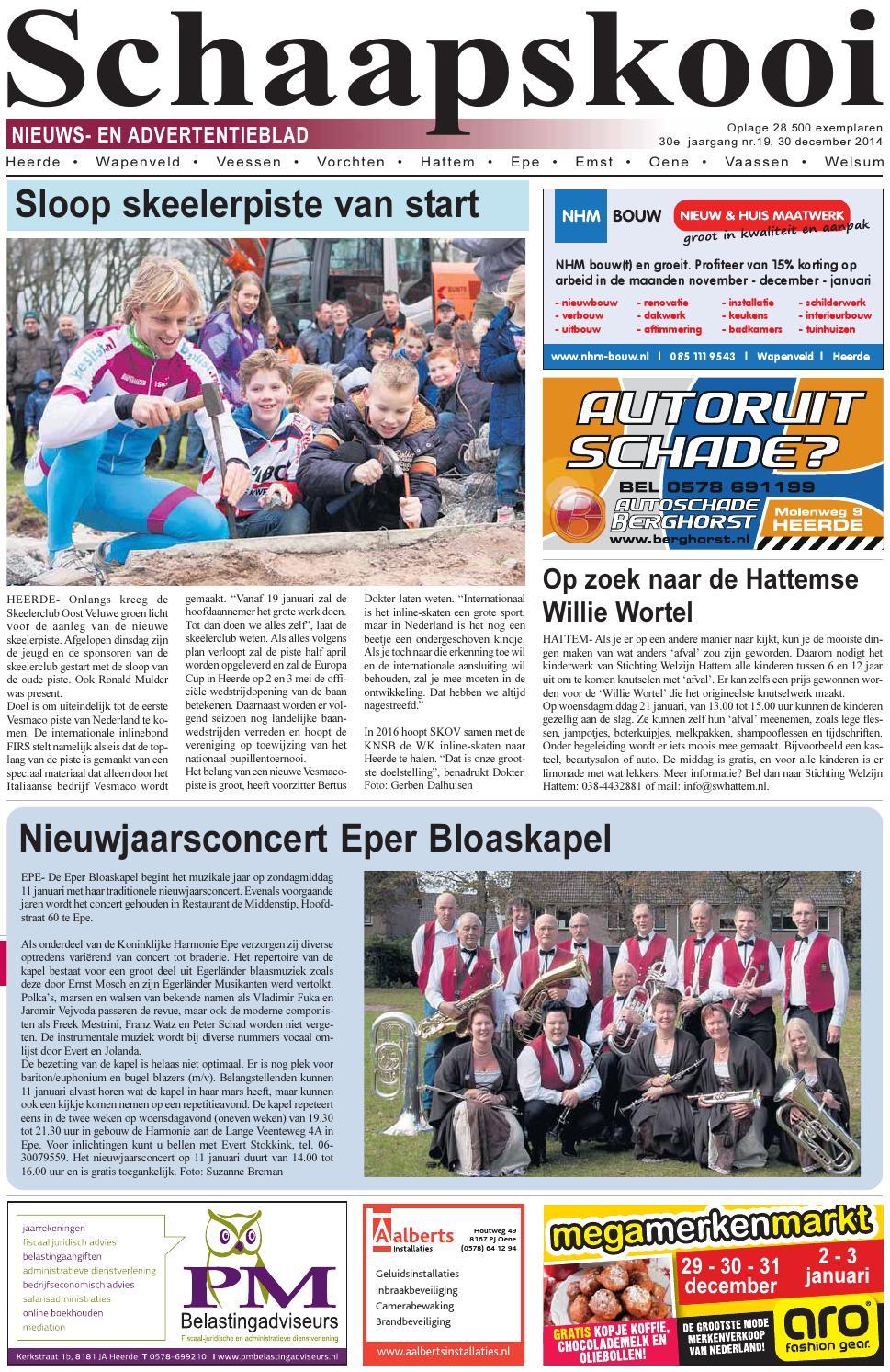 Schaapskooi week 01 2015 by schaapskooi - issuu